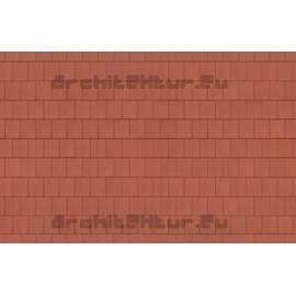 Roof Flat Tiles N°03 Brown