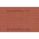 Couverture Tuiles Plates N°03 Brun