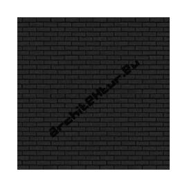 Brick wall N°02 black