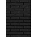Mur de briques N°02 noires