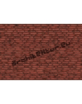 Brick wall N°03 red