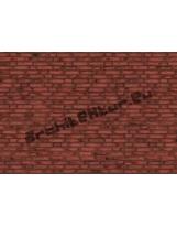 Mur de briques N°03 rouges