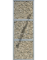 Mur de Gabion (1x3 mods) N°01