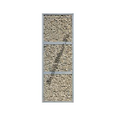 Gabion wall (1x3 units) N°01