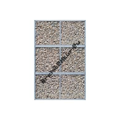 Mur de Gabion (2x3 mods) N°02