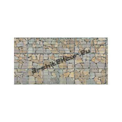 Mur de Gabion (3x8 mods) N°06 pierres