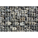 Gabion wall N°07 pebbles