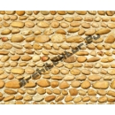 Mur de galets hourdés