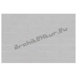 Cinder blocks wall N°03 painted