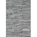 Mur de pierre N°08 terre cuite fine