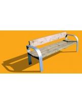 Wooden Bench N°02