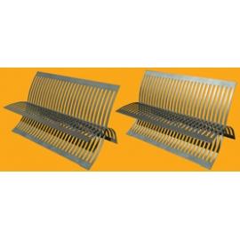 Steel bench N°02