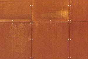 Texture Texture Acier Corten