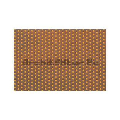 Corten steel board N°04 Perforated plate