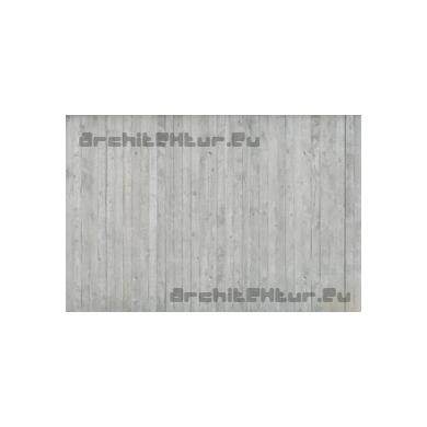 Concrete wall N°30 wood formwork