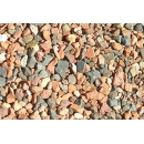 Pebbles / Gravels N°05 red