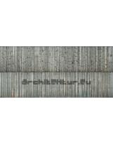Bardage Bois N°11 Lames verticales noires