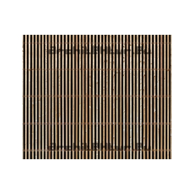 Lattis Bois N°10 vertical ajouré