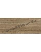 Wood boarding N°22 horizontal slats