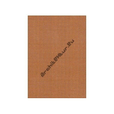 Medium Wood Acoustic panel