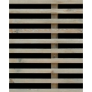 Cladding wood N°01 horizontal blades