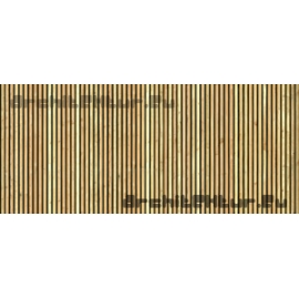 Wood Cladding N°03 vertical lathing