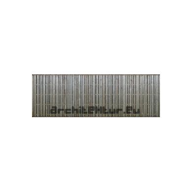 Cladding wood N°09 vertical boards