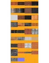 Pack textures Complet : 15 Aciers Corten HQ