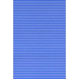 Blue Scored Glass