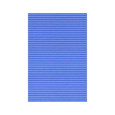 Verre Strié Bleu