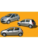 Clio Renault 3 views