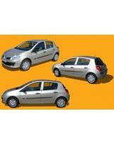 Clio Renault 3 vues