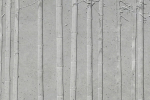 texture mur beton n 29 pr fa motif bambou architextur. Black Bedroom Furniture Sets. Home Design Ideas